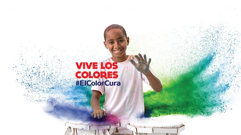 VIVE LOS COLORES #ElColorCura